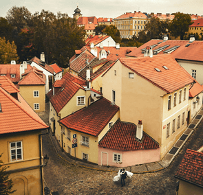 Zests of Prague wedding